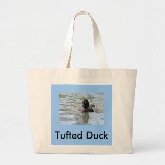 Cruising Tufted Duck Jumbo Tote Bag