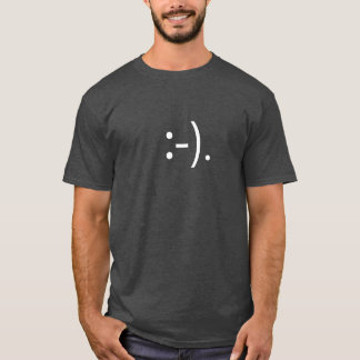 Crumb Smiley Face Emoticon T Shirt