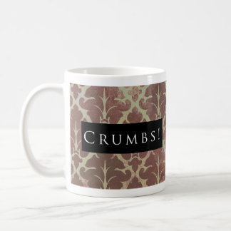 Crumbs! Pattern Black Coffee Mug