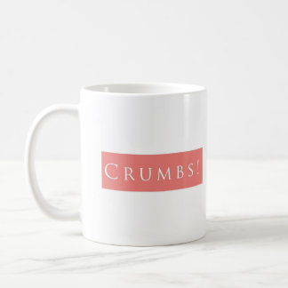 Crumbs! Plain Pink Coffee Mug