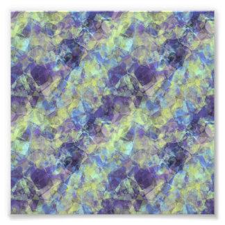 Crumpled Lavender Texture Art Photo