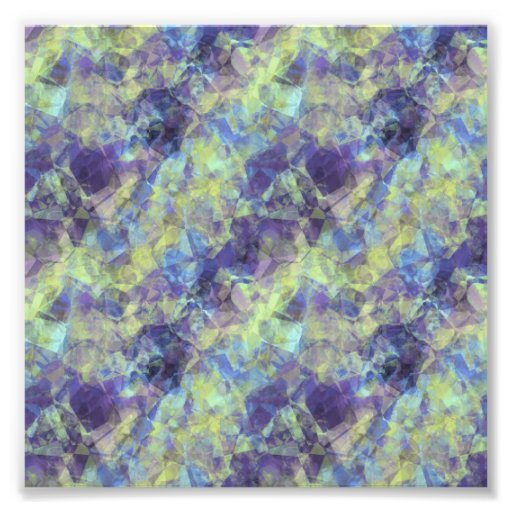 Crumpled Lavender Texture Photo Print