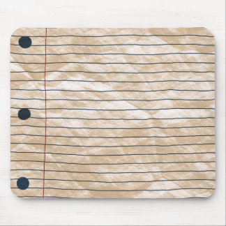 Crumpled Notepaper Mousepad