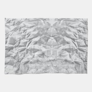 Crumpled Paper Kitchen Towel