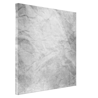 CRUMPLED PAPER SILVER GREY GRAYS WHITE DIGITAL TEM CANVAS PRINT