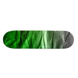 Crumpled Paper Skate Board Deck