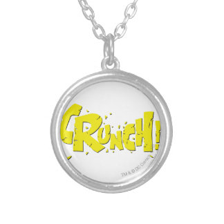 CRUNCH! SILVER PLATED NECKLACE