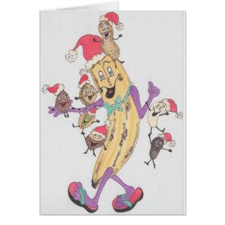 'Crunchy' Christmas Card