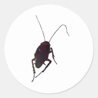Crunchy Cockroach Classic Round Sticker