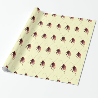 Crunchy Cockroach Wrapping Paper