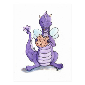 Crunchy Cookie Postcard