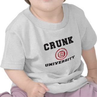 crunk university hyphy movement tee shirt