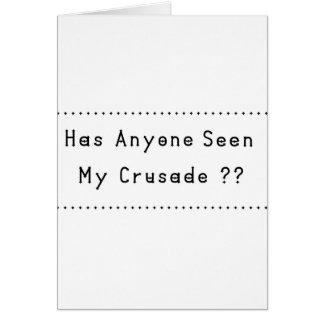 Crusade Card
