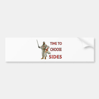 CRUSADER BUMPER STICKER