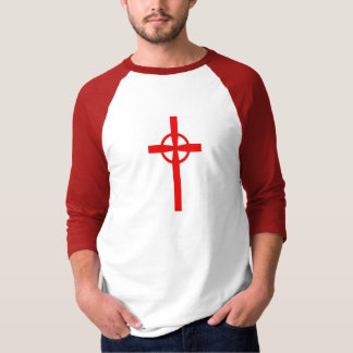 Crusader celtic cross customizable T shirt