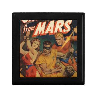 Crusader from Mars Small Square Gift Box