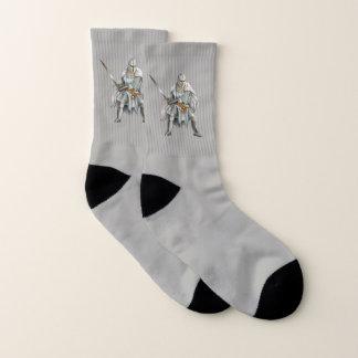 Crusader Knight Small All-Over-Print Socks 1