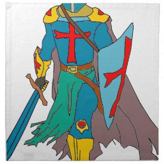 Crusader Napkin