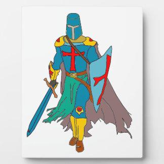 Crusader Plaque
