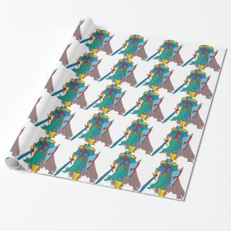 Crusader Wrapping Paper