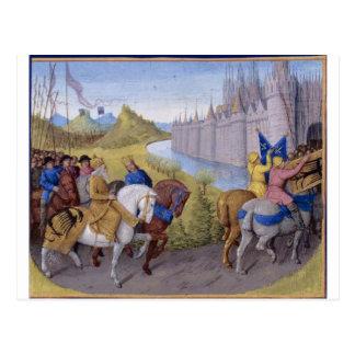 Crusaders Arrived in Constantinople Postcard
