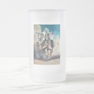 Crusaders Ride Warrior Series Frosted Mug
