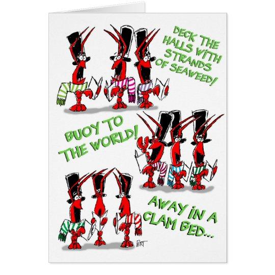 Crustacean Carols! Card