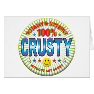 Crusty Totally Card