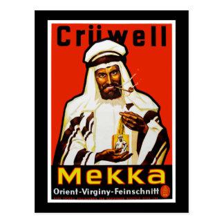 Cruwell Mekka Tobacco Postcard