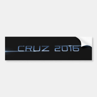 Cruz 2016 bumper sticker