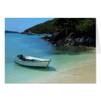 Cruz Bay Boat Card
