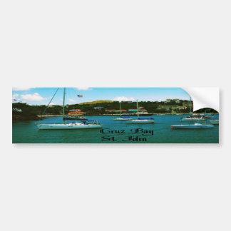 Cruz Bay St John USVI Bumper Stickers