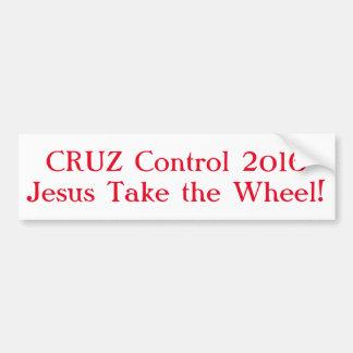 Cruz Control 2016 Bumper Sticker