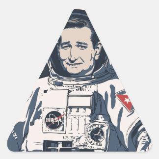 Cruz Control Triangle Sticker