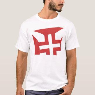 Cruz de Cristo half T-Shirt