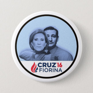 Cruz Fiorina '16 7.5 Cm Round Badge