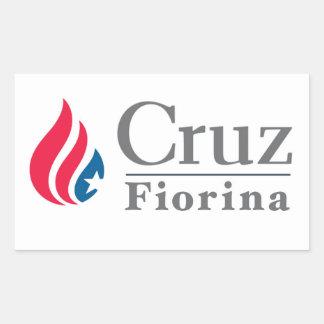 Cruz/Fiorina 2016 sticker