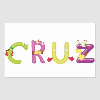 Cruz Sticker