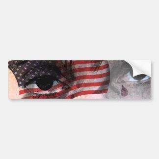CRY AMERICA - LOSING THE USA CAR BUMPER STICKER