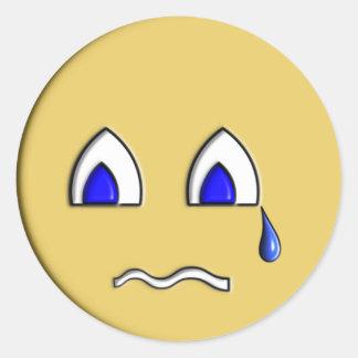 Cry Baby Round Sticker