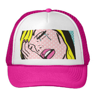 Cry Me a River Pop Art Trucker Hat