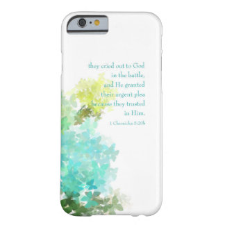 Cry Out To God 1 Chronicles 5:20 iPhone 6 Case