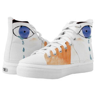 Cry Printed Shoes