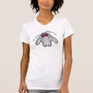Crying Bunny Rabbit T-Shirt