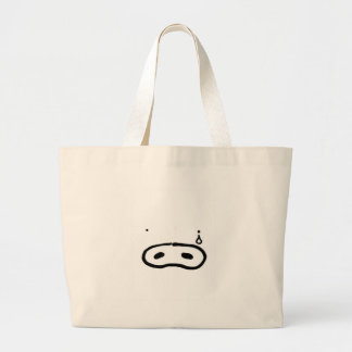 Crying cover tote bag