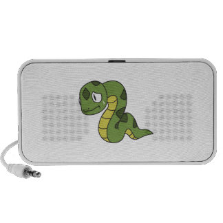 Crying Cute Green Snake Greeting Cards Mugs Pin Mp3 Speakers