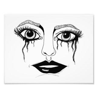 Crying Eyes Art Photo