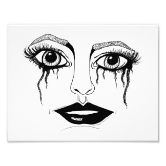 Crying Eyes Photographic Print