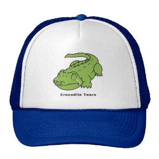 Crying Green Crocodile Tears Sticker Mug Bag Pins Cap