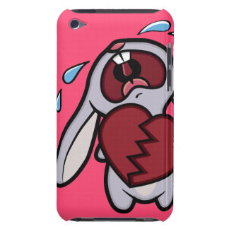 Crying Heart Broken Cartoon Bunny iPod Touch Case